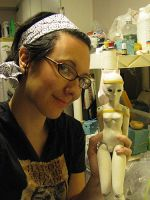 Me and my sculpting by batchix