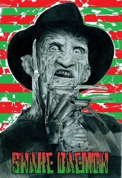 Freddy Krueger by snakedaemon