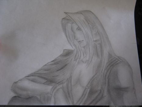 Sephiroth by AnimeVampLuver