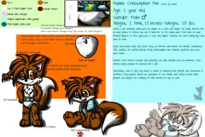Chris Fox: Reference Page 2013 by BabyChrisFox