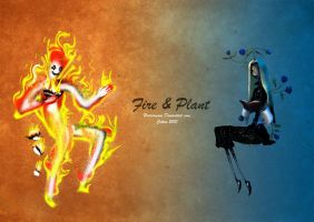 Fire and Plant by CottonValent