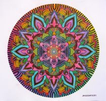 Mandala 10 - Collaboration by Mandala-Jim