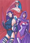 The Stages of Psylocke by RobertMacQuarrie1