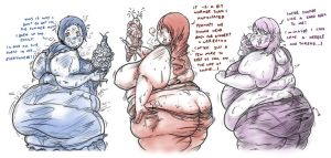 P3: Fat Enabling Socialites -1 by G-Nibbles