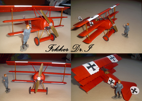 The Red Baron and his Aircraft by Teratophoneus