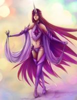 Lady Muu, of magic and sparkles by TenshiHime7