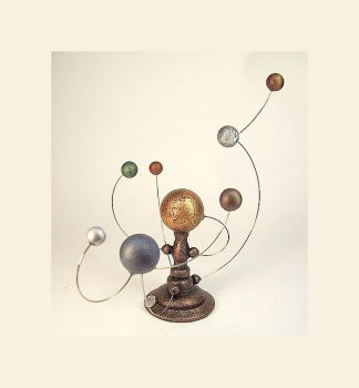 BIG Planet Orrery Sculpture by buildersstudio