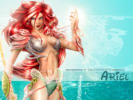 DOEK Ariel Wallpaper by steevinlove