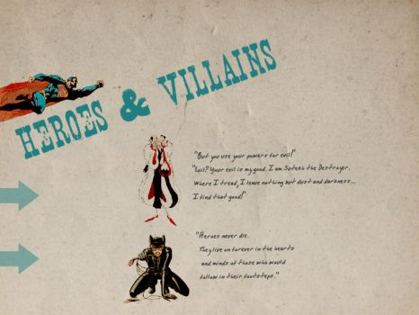 Heroes and Villians by dop12