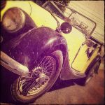 1963 Classic Yellow Morgan by Kantiki
