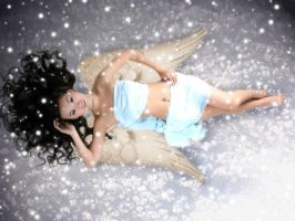 Snow Angel by easybeeze