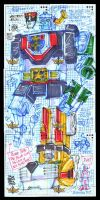 5FINITY Voltron 6 Card Puzzle by fbwash