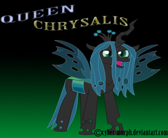 Queen Chrylsalis by Cyber-murph
