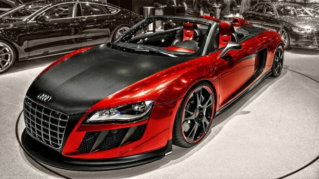 Audi R8 Spyder by pingallery
