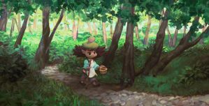 Forest Wander by the-muddy