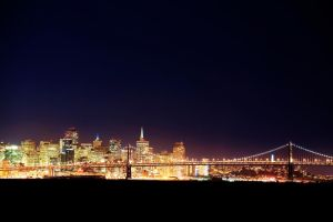 San Francisco Skyline by mbennion76