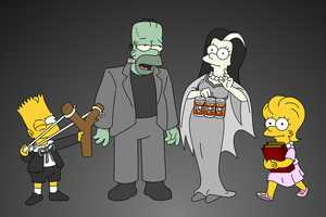 S.12 E.01 Treehouse of Horror XI by Noswell