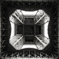 Eiffel tower I by milan-massa