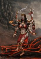 Goddess of death by shwaaz