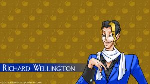 Richard Wellington Wallpaper, by GeneticMishap