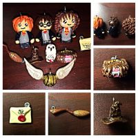 Harry Potter charm set by LittleCLUUs