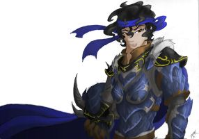 Dragon Highlord Kitiara by 6-fingers