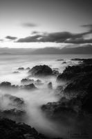The fog in the sea by LinsenSchuss