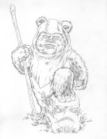 Ewok by jasonbaroody