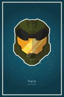 Halo (Master Chief) Poster by guilty-343
