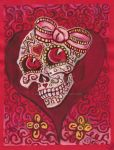Candy Love Skull by rawjawbone