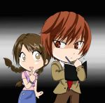 Fanaara and Yagami Light by Letucse