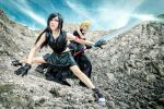 Cloud and Tifa , FF 7 by Akira0617