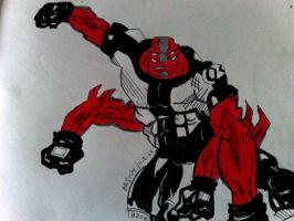 Fourarms Smash colored by akshay1