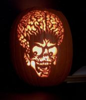 Mars Attacks Pumpkin by Mister-JP