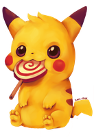 Pikaa~chuuuu by Kam-Fox