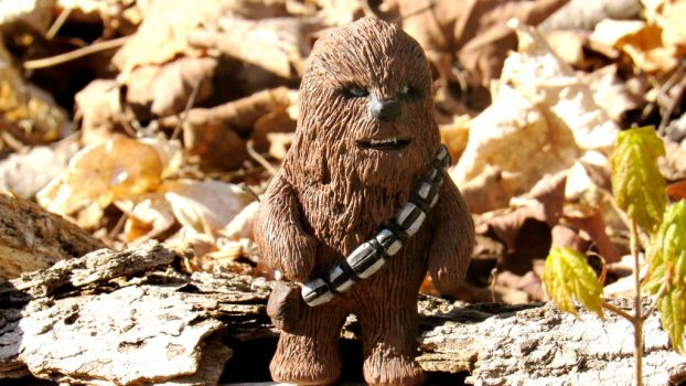 Mini Chewbacca by alcurreri