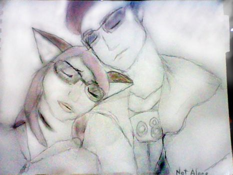Not Alone by XanSketchPad