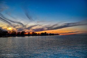 After Sunset Sky HDR 1 by eanimusic