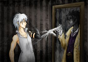 d.gray man_reflection by DeathGuise13