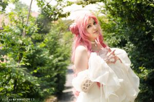 Smile to you. Euphemia cosplay, code geass by Giuzzys