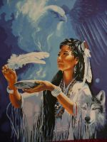 native american spirit by Crotchmonsoon