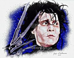 Edward Scissorhands by Judydotqueen