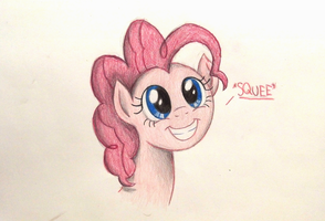 Pinkie Squee by TheFriendlyElephant