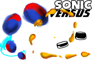 Sonic Versus Art Assets by SupeSonicBoom