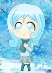 My Little Pony: Snowdrop (Chibi/Human) by Azbayzia