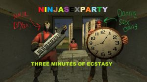 NINJASEXPARTY-THREE MINUTES OF ECSTASY! by polkaanimation
