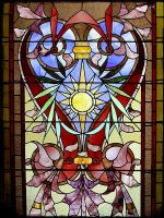 Stained Glass Window 2 by chamberstock