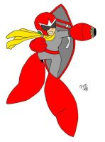 Protoman by one-winged-kiryu93