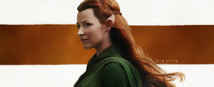 Tauriel - Daughter of the Forest by Kc-Eazyworld