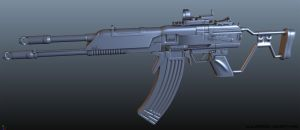 WIP  2  - REALISTIC VLADOF ASSAULT RIFLE by CougarJo